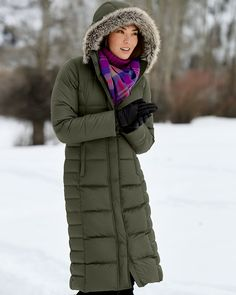 Women's Lodge Down Duffle Coat | Ultralight, ultrawarm 650 fill ...