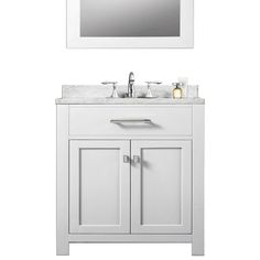 Genial Madison Pure White 30 Inch Single Sink Bathroom Vanity Vanities Bathroom  Vanities Bathroo