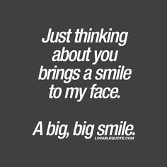 Lovable quotes about happiness! Happy quotes for him and her! - Exactly When i think about u i just fall again in love with u❤ 😍 - Love Quotes Funny, Romantic Love Quotes, Funny Quotes About Life, Amazing Quotes, Happy Quotes, Funny Sayings, Fallen In Love Quotes, Quotes About Couples, Sweet Smile Quotes