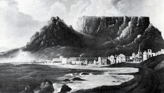 Cape Town and Table Mountain in November 1772