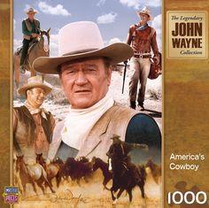John Wayne - America's Cowboy - 1000 Piece Jigsaw Puzzle