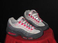 Womens Nike Air Max 95 Running Shoes Anthracite/Pink/Gray SZ 8.5 336620-020 #Nike #RunningCrossTraining
