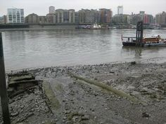 Thames River:  It's easy to forget that the Thames is a tidal river and this picture of the mud at low tide taken from Wapping Old Stairs would be the scene Patrick and Iggy were looking down on. If you look closely you can see the old stone runway where the rivercraft would have been hauled out of the river for repair.