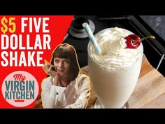 How to make a five dollar shake recipe video Pulp fiction inspired deliciousness in a glass #fivedollarshake #myvirginkitchen #barrylewis #moviefood