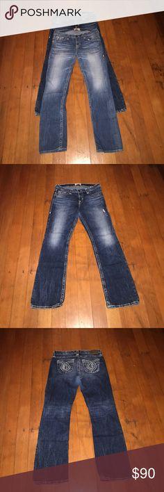 Big Star Boot Cut Jeans 2 pair Big Star Boot Cut Jeans 2 pair Size 30 R Big Star Jeans Boot Cut