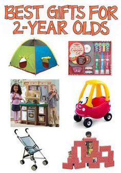 A Selection of the Most Cost-Effective, Enjoyable, Long Lasting, Best Gifts for 2-Year-Olds