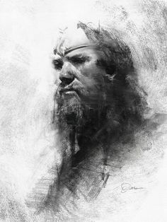 ArtStation - Male_portrait_2, Greg Rutkowski