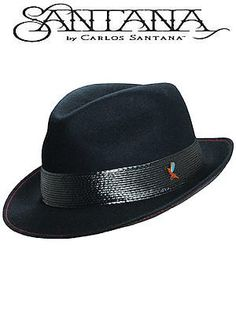 f04ef6cb69bcab Carlos Santana Hat Let It Shine SAN118 Black Let It Shine, Carlos Santana,  Cool