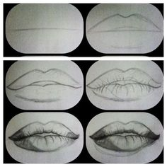 1000+ ideas about Draw Lips on Pinterest | Drawings, How To Draw Realistic and How To Draw Eyes