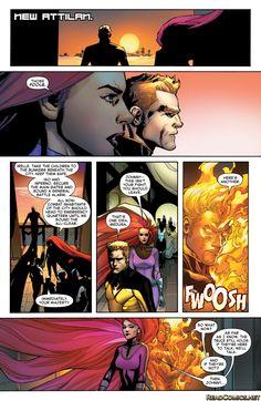 Inhumans vs X-Men 1 Page 40