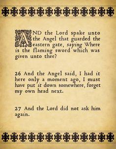 'Good Omens' by Neil Gaiman & Terry Pratchett