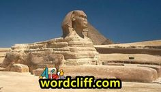Descriptive Text About The Great Sphinx Of Giza