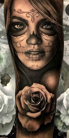 armel tatowierung tattoo tattoo sleeve - The world's most private search engine Hand Tattoos, Forarm Tattoos, Chicano Tattoos, Forearm Sleeve Tattoos, Girls With Sleeve Tattoos, Tattoo Sleeve Designs, Rose Tattoos, Body Art Tattoos, Sugar Skull Girl Tattoo