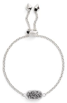 See the Women's Kendra Scott Elaina Bracelet. Wolf Jewelry, Keep Jewelry, Jewelry Accessories, Scott Jewelry, Avery Jewelry, Women's Jewelry, Diamond Jewelry, Silver Jewelry, Silver Necklaces