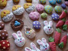 Easter Salt Dough Ornaments