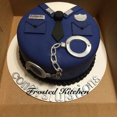 Image result for policeman cake