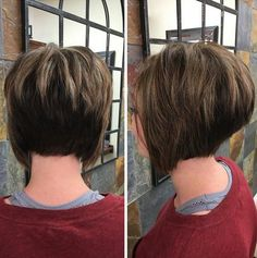 20 Sexy Stacked Haircuts for Short Hair: You Can Easily Copy - Love this Hair