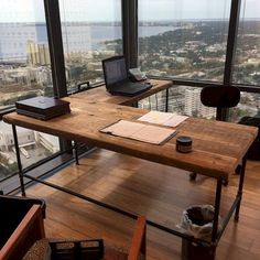 Awesome 45 Amazing Rustic Home Office Furniture Ideas https://homearchite.com/2017/07/12/45-amazing-rustic-home-office-furniture-ideas/