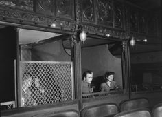 The Bones of Paris: screened private boxes, like confessionals, in the Grand-Guignol.