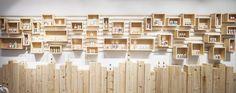 Design firm Brigada have designed the interior of AlpStories, a concept store for a Slovenian cosmetics brand.