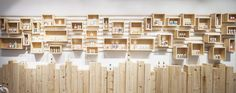 Design firm Brigada have designed the interior of AlpStories, a concept store for a Slovenian cosmetics brand.