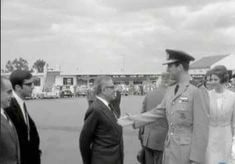 Aristotelis Onassis  Alexander Onassis  King of Greece Konstandinos  Queen Anna Maria  Airport in Greece
