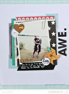 #papercraft #scrapbook #layout.  awe_main