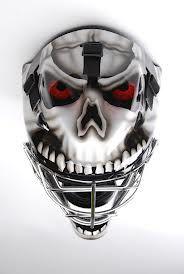 wolf goalie helmet - Google Search