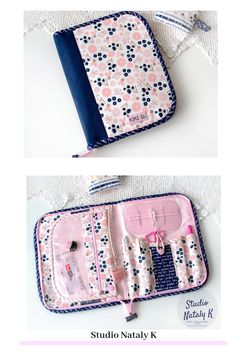 Custom order - Sewing, Cross stitch, quilting zipper organizer for travel. Gift for sewer, wife, mom. Sewing Case, Sewing Box, Sewing Tools, Sewing Hacks, Sewing Crafts, Sewing Projects, Crate Crafts, Diy Crafts Hacks, Cross Stitch Supplies