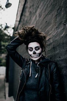 Halloween: Skeleton Makeup