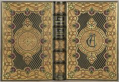 TENNYSON, Alfred. The Princess: A Medley.  London: Edward Moxon and Co., 1860.  Later jeweled binding by Sangorski & Sutcliffe.