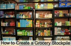 Have you been thinking about starting a grocery stockpile to save money? It's really not that hard to do – I promise! It does take time to build, but having a stockpile is worth it in so many ways! Extreme Couponing, Start Couponing, Couponing 101, Basement Storage, Storage Room, Basement Ideas, Storage Ideas, Food Storage, Pantry Storage