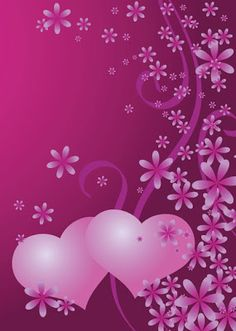 Iphone wallpaper background pink hearts and flowers Pink Wallpaper Iphone, Heart Wallpaper, Love Wallpaper, Cellphone Wallpaper, Flower Background Wallpaper, Cute Wallpaper Backgrounds, Flower Backgrounds, Cute Wallpapers, Iphone Wallpapers