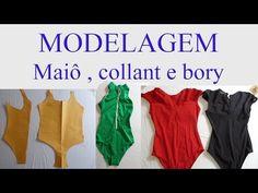 YouTube Body Adulto, Halloween Sewing, Alana Santos, Clothing Patterns, Diy Clothes, Diy Design, Tutu, Underwear, Pajama Pants