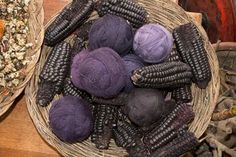 How to create dyes from leaves, roots, bark and flowers, and use them in beautiful and long lasting colored fabrics.