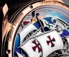 Zenith Christophe Colombe Grand Voyage Caseback Closeup2