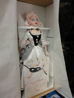 Ashton Drake rare Gene doll Masquerade Ball Pierette new in box Mel Odom | eBay