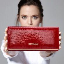 Ženy Peněženky Značka design Vysoce kvalitní kožená peněženka Žena Hasp módní Dollar Cena Alligator Dlouhé Ženy peněženek (Čína (pevninská část))