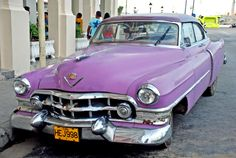 PICTURES OF CARS IN THE 50's | CUBA 50's CARS lahabana 13b