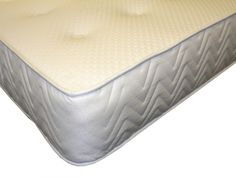 """6ft Hilton Pocket Luxury Mattress - £574.95 - Hand nested individual pocket springs in a medium/firm tension and being pocket sprung it is a true """"no roll together"""" mattress.  The Hilton Pocket Luxury Mattress has deep layers of soft upholstery which is then hand tufted. The mattress is covered in a super soft fabric which has pure silk woven into the fabric for super soft feel. Vented for superior air circulation and handles for easier turning, the Hilton Pocket Luxury is a fantastic…"""