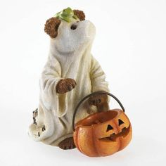 The Collectors Hub - Boyds Bear Halloween Figurine, $14.25 (http://www.thecollectorshub.com/boyds-bear-halloween-figurine/)