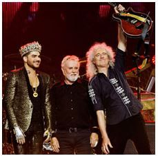 2017 - Queen and Adam Lambert – Nov. 10 Casalecchio di Reno; tickets are available in Vicenza at Media World, Palladio Shopping Center, or online at www.ticketone.it and www.geticket.it.