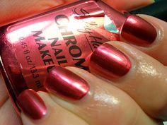 Sally Hansen Chrome Nail Makeup in Tourmaline Chrome