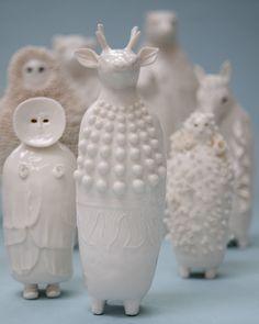 22 Sophie Woodrows Porcelains.