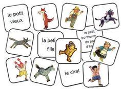 Jeu de mémory Le petit bonhomme de pain d'épice Cactus Cat, Man Projects, Teaching French, Gingerbread Man, Winter Christmas, Fairy Tales, Images, Alsace, Hana