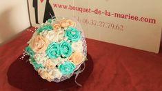 Bouquet de mariage Shabby ou Bohème Chic Rose, Marie, Shabby, Desserts, Wedding Bouquet, Hobo Chic, Tailgate Desserts, Pink, Deserts