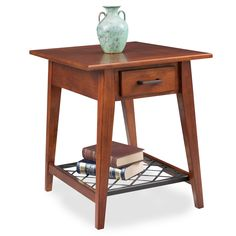 Westwood Oak Drawer End Table - Latisse Collection #10207