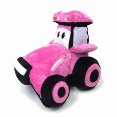 Case IH Tractor PINK Pillow Pet