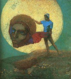 Fall of Icarus- Odilon Redon