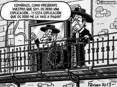 Bienvenido, Mr. Rajoy.